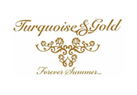 Logo of Turquoise and Gold